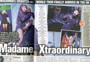 MADAME X TOUR LONDON REVIEW - THE SUN NEWSPAPER  UK (30th Jan 2020)
